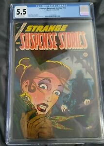 Strange Suspense Stories #18 CGC 5.5 Steve Ditko cover