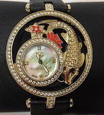 New Women's Collector's WatchStar DivaStar Koi Swiss White MOP Diamond Watch