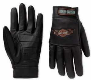 Harley Davidson motorcycle gloves, mens,leather gloves All sizes available