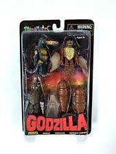 Godzilla Diamond Select Toys Minimates Series 3 Set Burning Rodan Megalon MISB