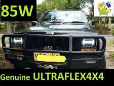 JEEP XJ YJ 5 x 7'' 85W *LEGAL*  PAIR LED DRL Head lights BLACK