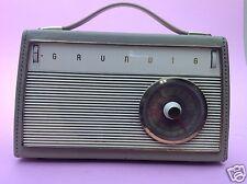 Kofferradio tragbares MW LW Radio Grundig Music-Boy Transistor 200 Fürth ~1960