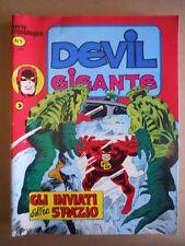 DEVIL  Gigante Serie Cronologica n°9 Edizione Corno  [G502] - OTTIMO