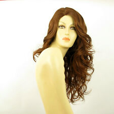 length wig for women curly brown golden coppery ref PRISCA 30 PERUK