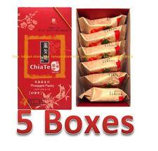 DHL (5 Boxes) - Chia Te Pineapple Cake Pineapple Pastry (6 pcs/Box) 佳德鳳梨酥 (6個/盒)