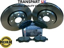 FOR CITROEN C1 PEUGEOT 107 108 TOYOTA AYGO FRONT BRAKE DISCS AND PADS PREMIUM