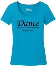 Ladies Dance The Conversation Between Body and Soul Scoop Tee Dancer Music
