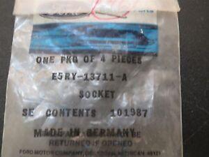NOS 1985 - 1988 MERKUR XR4Ti LIGHT SOCKETS LOT OF 3 PIECES E5RY-13711-A NEW ORIG