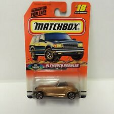 Matchbox 1998 Cool Concepts Plymouth Prowler Car NIB Mattel #18 of 75 Vehicles