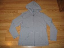 Karen Scott Zippered Hoodie Jacket Women's Size M