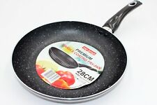 Granite Marble Coated NON STICK Frying Pan For Gas, Electric & Induction Hob