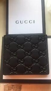 Authentic Men Gucci  Wallet #658
