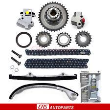 Fits 91-99 Nissan 240SX 2.4L DOHC KA24DE Engine Timing Chain Kit Components