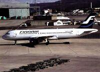 Finnair Airbus A320 ,  Ansichtskarte