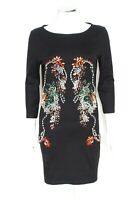 Markus Lupfer Jewel Gem Cotton Jersey Dress M