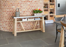 Baumhaus KUBA Modern Funky Cool Industrial Style Console Table (IRZ02B) SRP £499