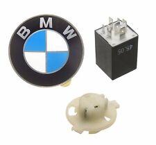 BMW E30 318i 325e 325i M3 Fuel Pump Relay + Bulb Socket