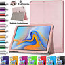 """Leather Stand Smart Flip Case Cover Fits Samsung Galaxy Tab A 10.5"""" SM-T590/T595"""