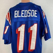 Starter Authentic Drew Bledsoe New England Patriots Jersey Vtg 90s NFL Sewn 52