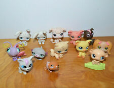 LITTLEST PET SHOP MINI FIGURE LOT LPS HASBRO CATS DOGS HAMSTER PIG
