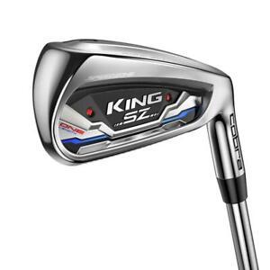 Cobra Golf King SpeedZone One Length Iron Set  Single Length Clubs  Choose Set