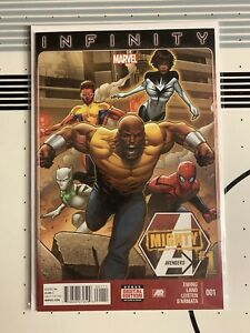 Mighty Avengers#1 1st Appearance Monica Rambeau as Spectrum 2013 Marvel Comics