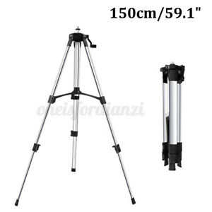 ❀1.5M Laser Level Tripod Adjustable Height Aluminum Alloy Stretchable Stand Tool