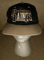Rare Vintage New Orley Saints Snapback 2000 Hat Team Nfl Brand Great Hat unique
