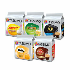 Tassimo Assorted Bestsellers Bundle 1 Capsules T-Discs Pods 72 Drinks