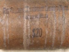 (ONE) $20 SILVER DOLLAR ROLL 20 UNCIRCULATED GEM BU MORGANS S-MINT ENDS