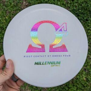 First Contact 4.1 ET Omega Four Millennium Disc Golf NEW 175g GRIPPY