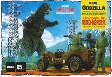 MPC 882 Godzilla Movie U.S. Army Jeep W/ Recoiless Gun  plastic model kit 1/25