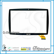 "MIO TAB 10"" LISCIANI TUTOR MP0101066 VETRO TOUCH SCREEN NERO 64299"