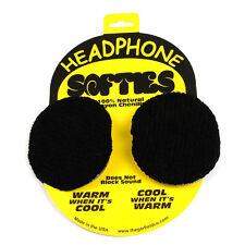 Garfield Headphone Softie - Pair of Soft Headphone Earpad Covers - Black SGARHS1