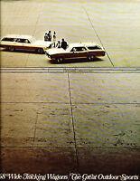 1968 Pontiac 16-page Station Wagon Car Brochure - Bonneville Catalina Tempest