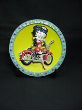 Betty Boop 3-D PLATE BIKER DESIGN (RETIRED)