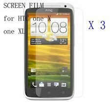 New 3x Clear Lcd Screen Protector Guard Cover Film for Htc One X / One Xl