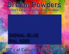 RAL 5005 Signal Blue Powder Coat 1kg Coating Refurbishment Alloy Wheel