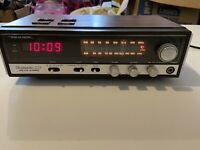 Realistic chronomatic 223 AM FM stereo clock Tested And Works