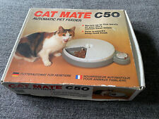 Pet Mate C50 Automatic 5 Meal Pet Feeder + Timer for Cats & Small Dogs