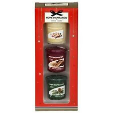 Yankee Candle Pack of 3 Yankee Christmas Votive Candles Gift Set