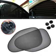 2pcs Car Side Window Sunshade Screen Visor UV Protector Cover Sun Shield Mesh