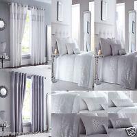 Shimmer Sequins Diamante Sparkle Bling Duvet/Quilt Cover Set Bed Linen Bedding