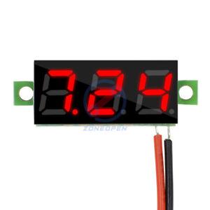 """0.28"""" Digital LED Amp Red 3 Digit LED Voltmeter Ammeter Voltage Meter Red"""