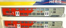 2er set ÖBB bmpz di City Shuttle comadreja doblegado líneas Heris 1:87 h0 nuevo #b2a1å