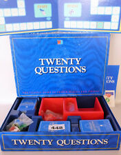 VINTAGE 1988 MB TWENTY QUESTIONS CLASSIC BOARD GAME see listing