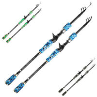 1.8M-3.0M Fishing Rod Telescopic Sea Carbon Fiber Lure Spinning Casting Pole