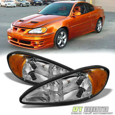 1999-2005 Pontiac Grand Am Headlights Headlamps Lamps Lights Left+Right 99-05