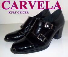 """Stunning  """"CARVELA """" Black PATENT  LEATHER  Shoes UK 7  EU  40   £165"""