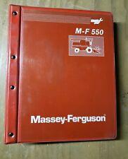 Massey Ferguson MF 550 Combine Service Manual 1449 200 M1 #1J-2252-X18